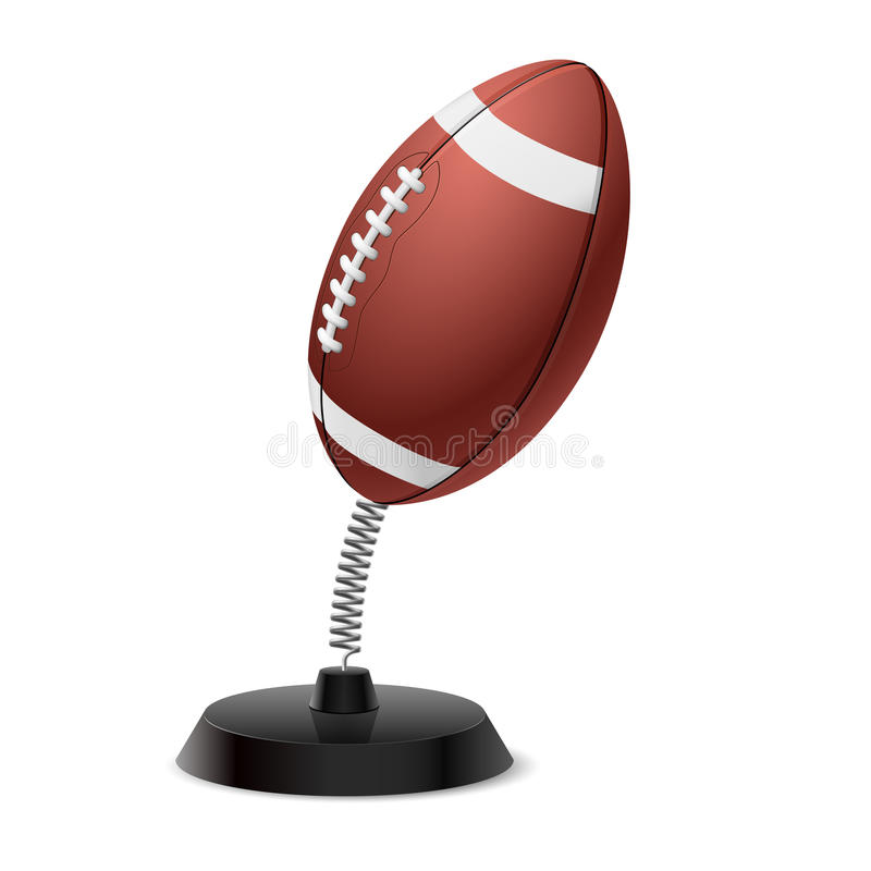 American football souvenir royalty free illustration