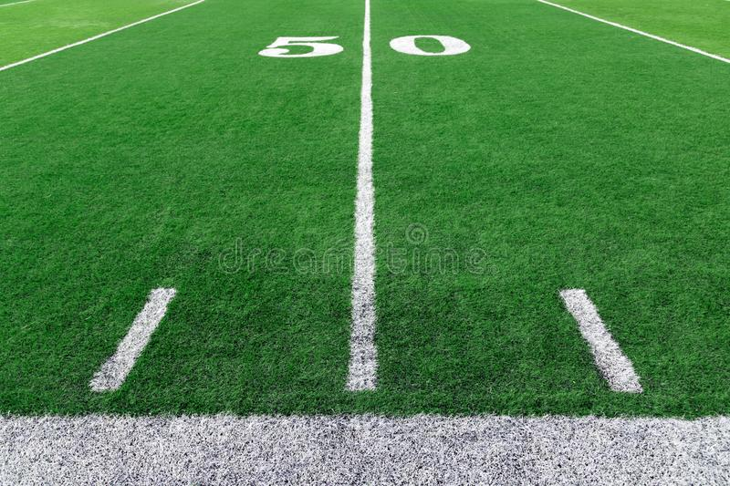 American football stadium background stock images