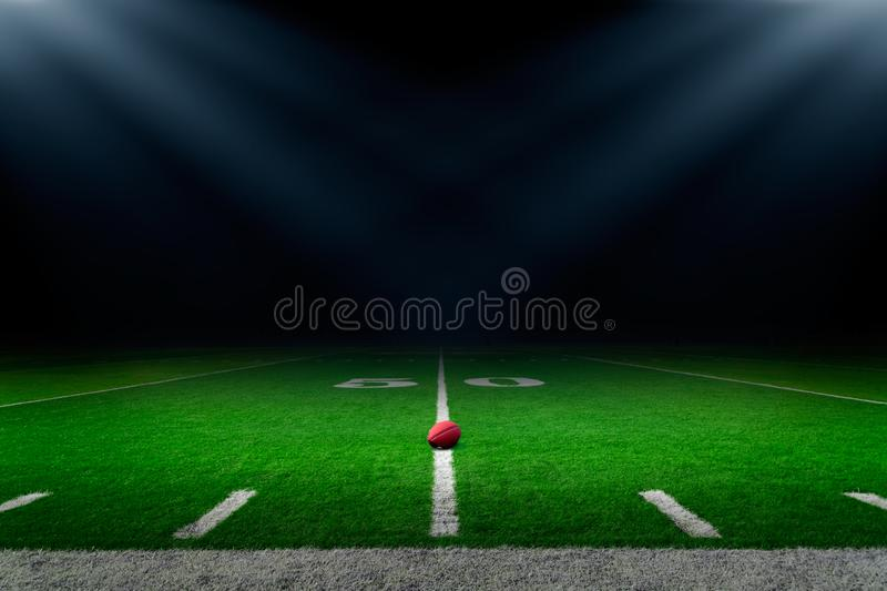 American football stadium background royalty free stock photos