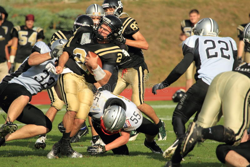 American football struggle
