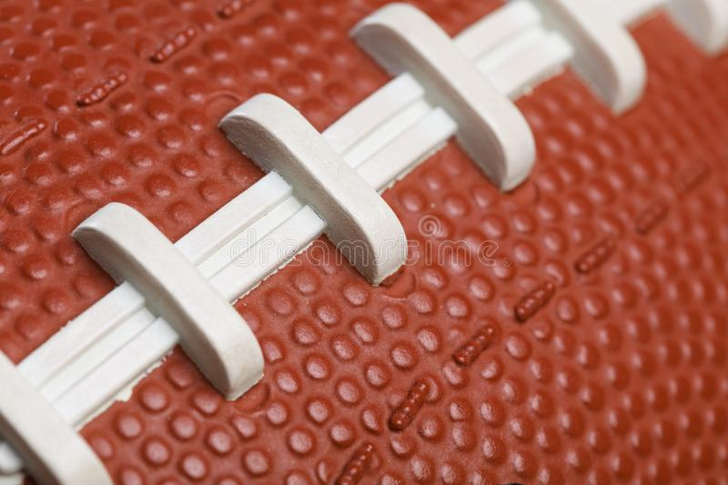 American Football Texture royalty free stock image