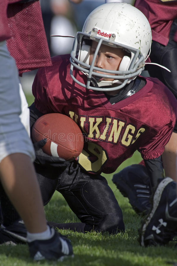 American Football Youth royalty free stock images