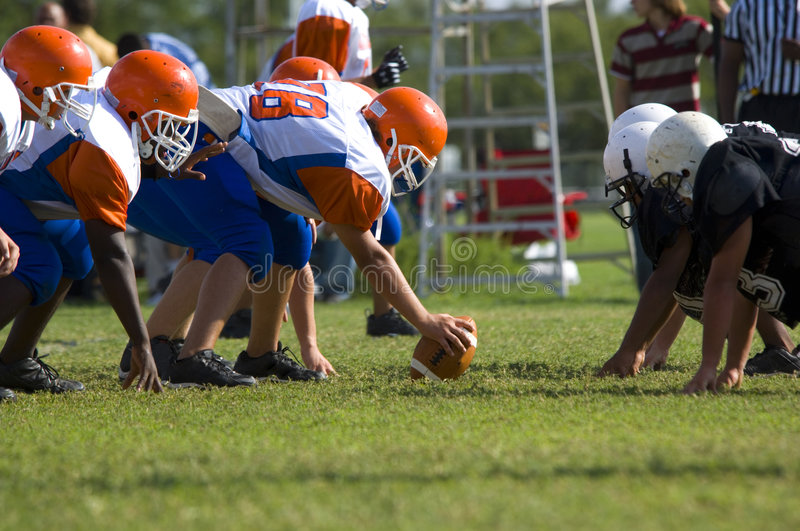 American Football - Youth stock images