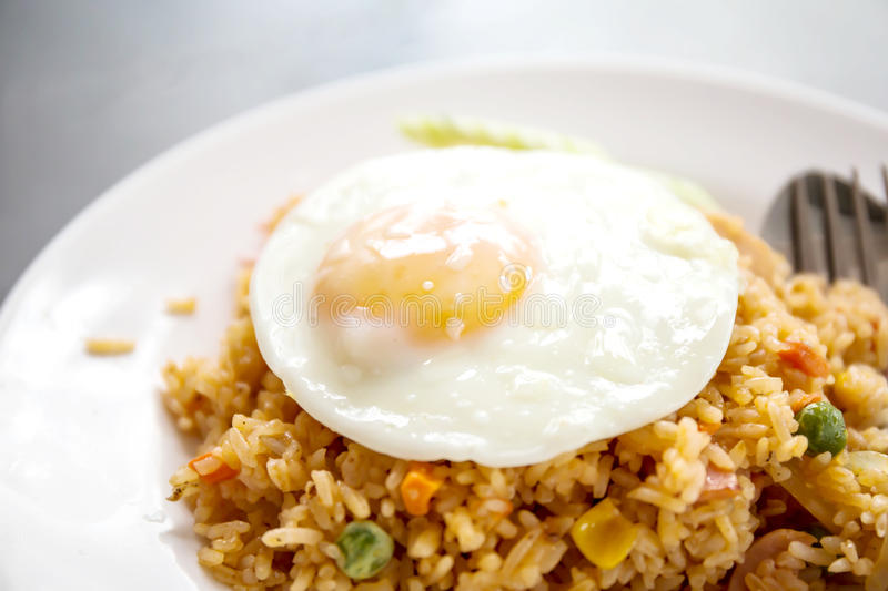 American fried rice royalty free stock photos