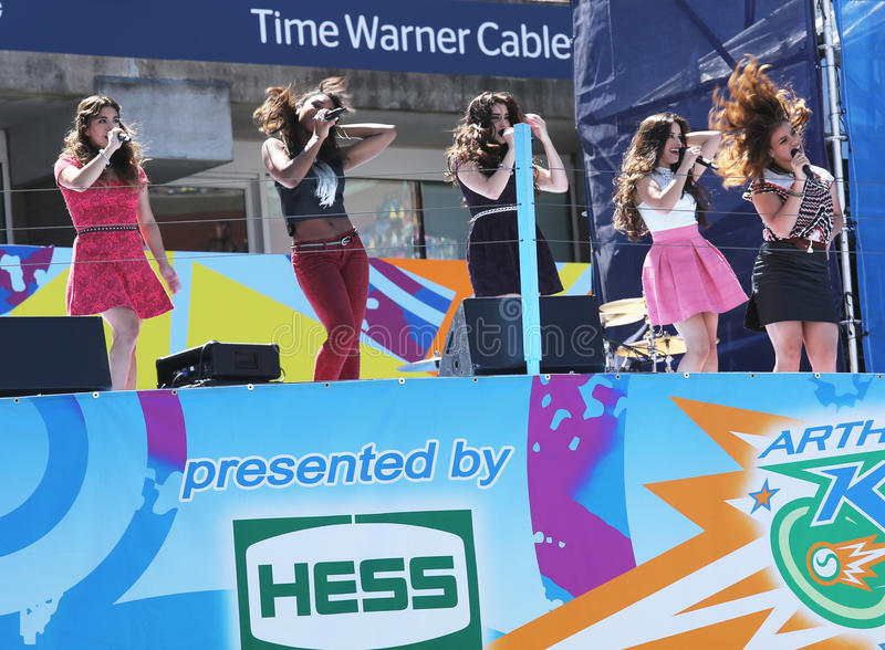 Download American Girl Group Fifth Harmony Performs At The Arthur Ashe Kids Day 2013 At Billie Jean King National Tennis Center Editorial Stock Image - Image: 35831789