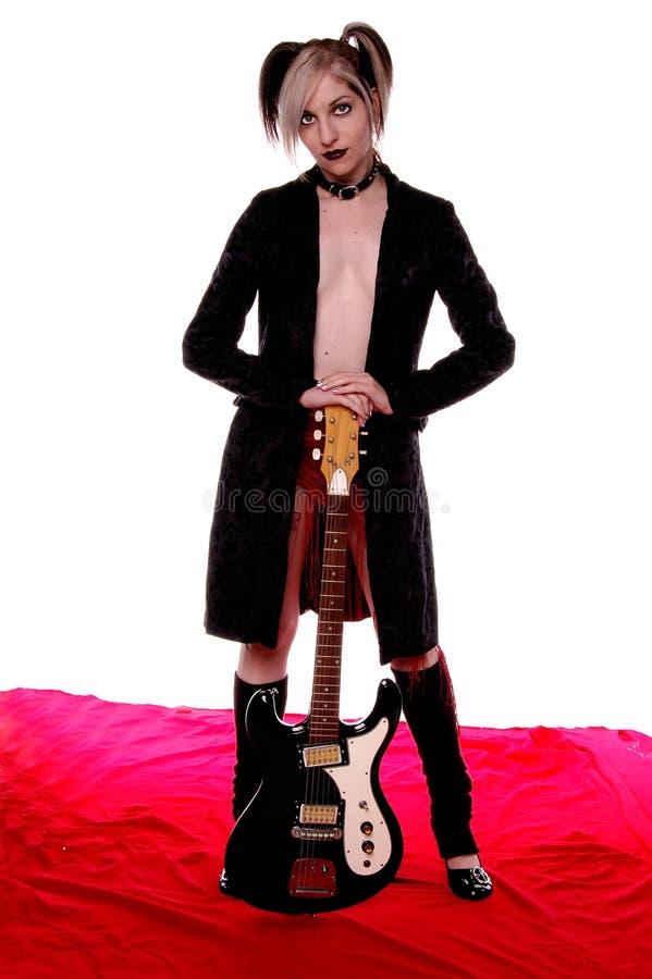 American Goth royalty free stock photo