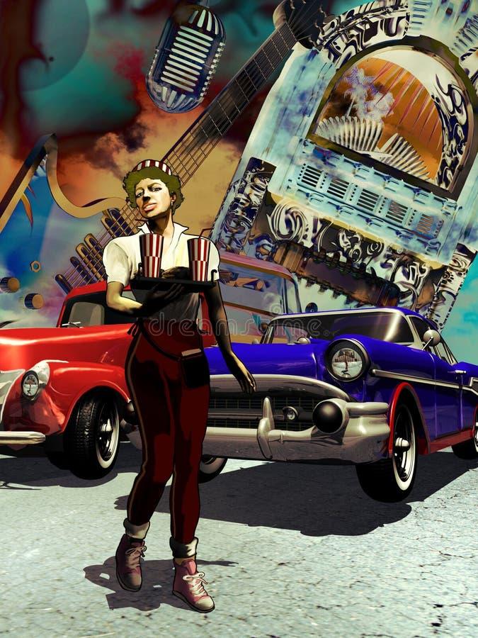 Download American Graffiti Stock Image - Image: 25007101