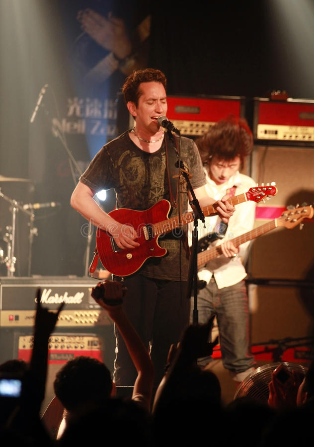 Download American Guitarist Neil Zaza Editorial Stock Image - Image: 15256309