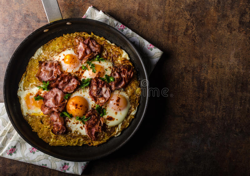 American Hash Browns potato stock images