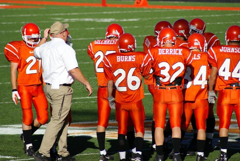 American High School Football. New Mexico State High School Football Championship Playoffs. Roswell Coyotes vs. Artesia Bulldogs, November 18, 2006 stock photography