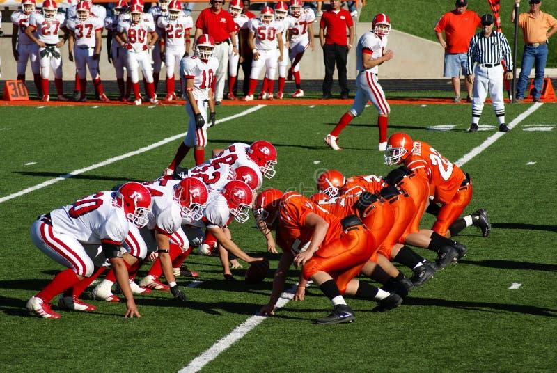 American High School Football. New Mexico State High School Football Championship Playoffs. Roswell Coyotes vs. Artesia Bulldogs, November 18, 2006 stock photos