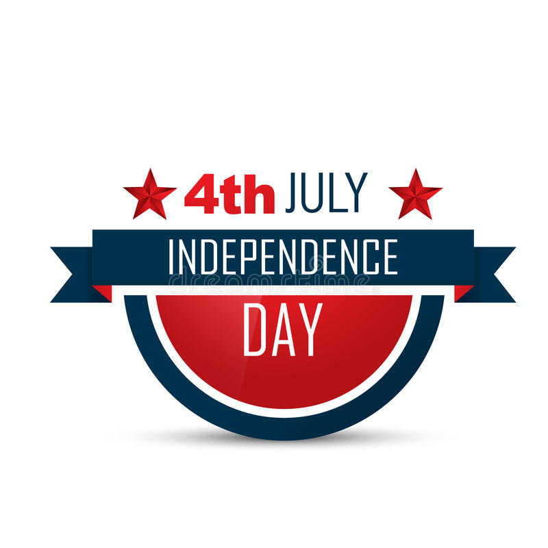 American independence day background royalty free illustration