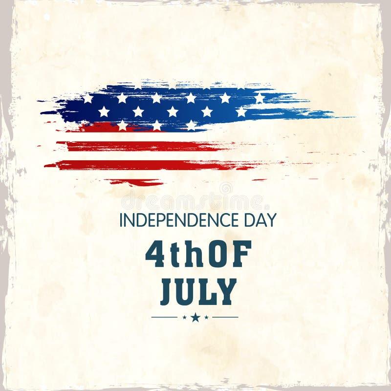 American Independence Day Celebration Poster, Or Banner Design ...