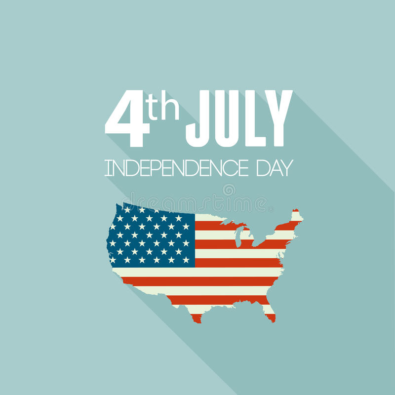 Download American Independence Day. Flat Design Stock Vector - Image: 41427300