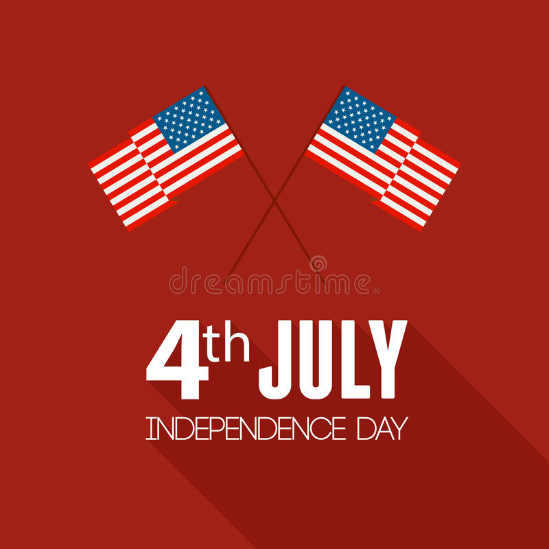 Download American Independence Day. Flat Design Stock Vector - Image: 41427309