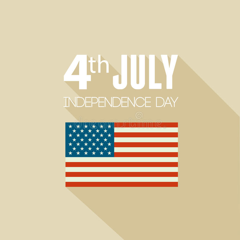 Download American Independence Day. Flat Design Stock Vector - Image: 41427337