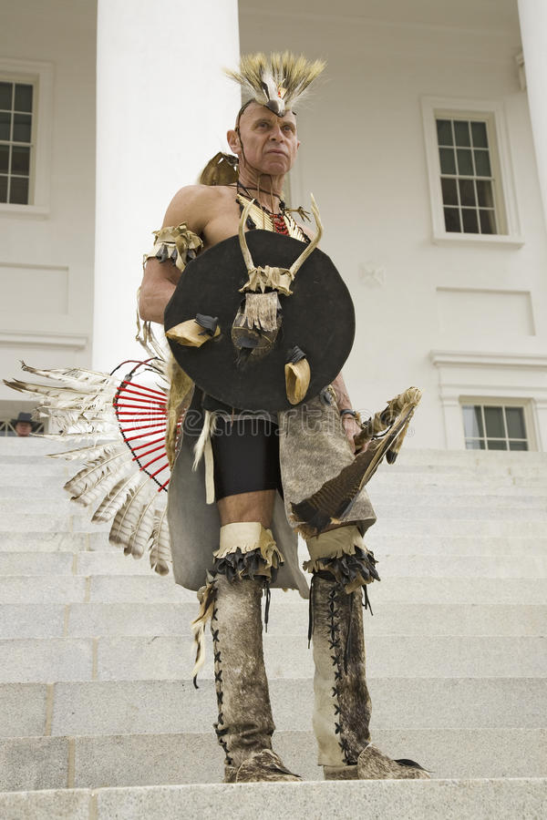 American Indian Editorial Stock Image