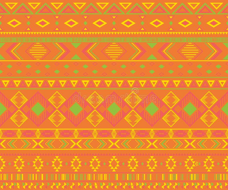 American indian pattern tribal ethnic motifs geometric vector background royalty free stock photos