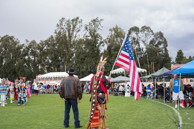 American Indian Student Association AISA Presentation royalty free stock images