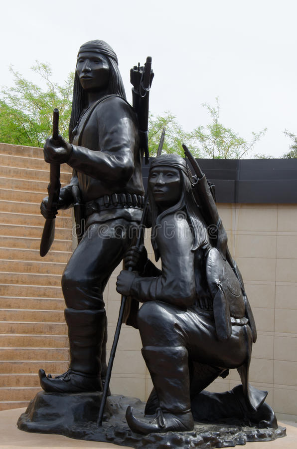 American Indian Veterans National Memorial, Heard Museum, Phoenix. The Memorial, located outside the Collector's Room of the Heard Museum Shop, consists stock photos