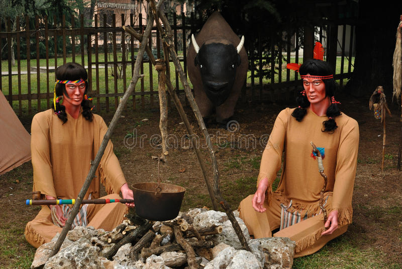 American Indians royalty free stock photo