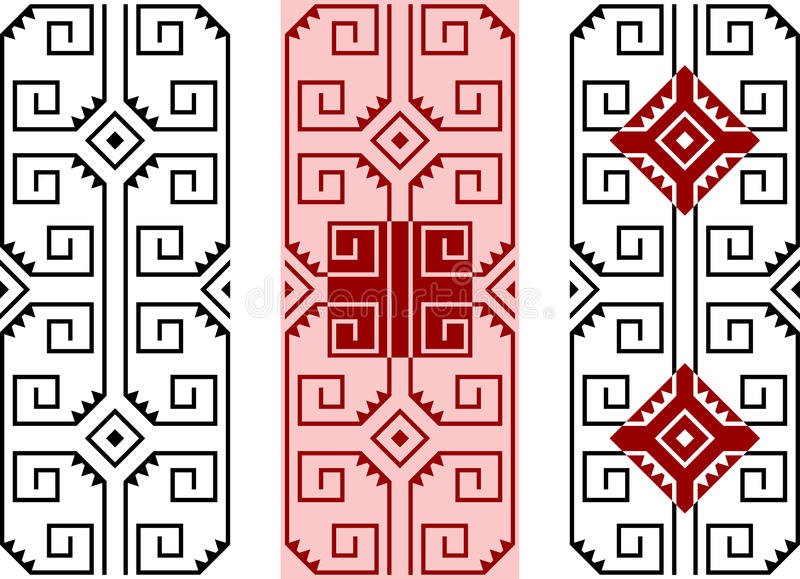 American Indians   Ornament Stock Images