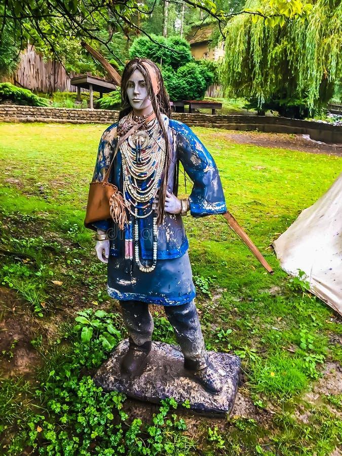 American Indians stock photos