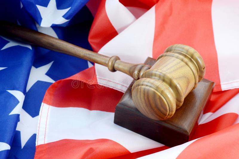 American Legal System royalty free stock images