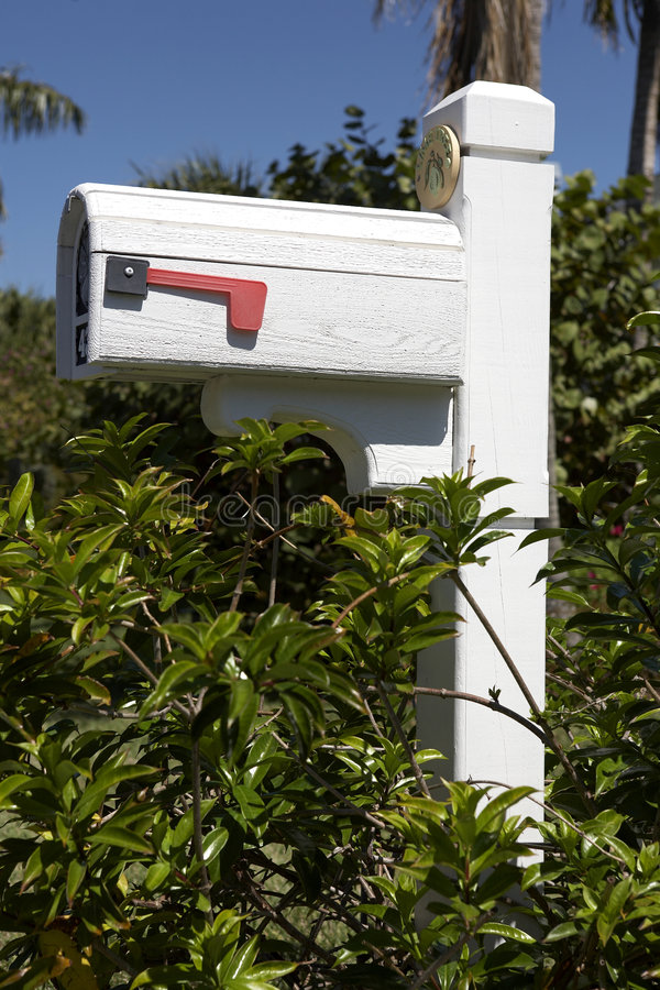American mailbox royalty free stock photo