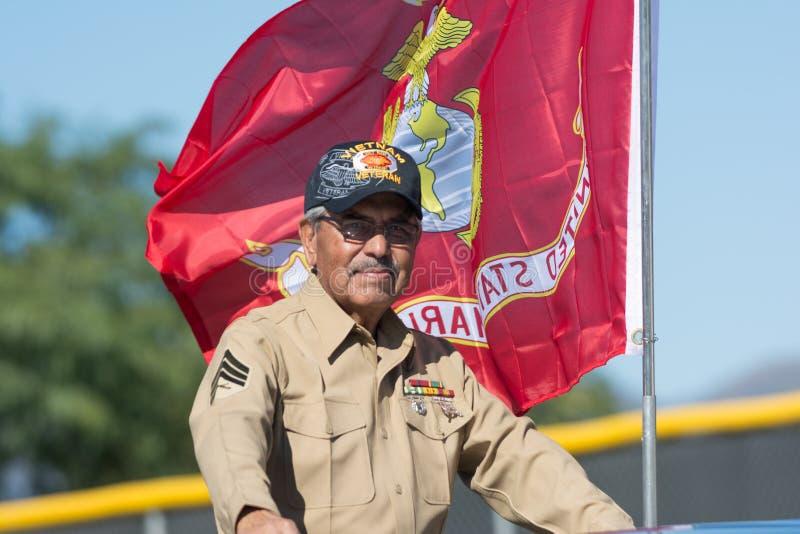 American Marine Veteran royalty free stock photos