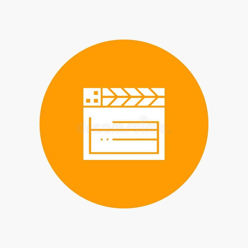 American, Movie, Usa, Video royalty free illustration