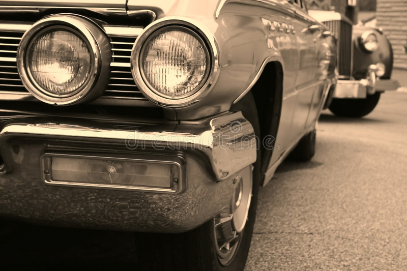 American muscle cars royalty free stock photo