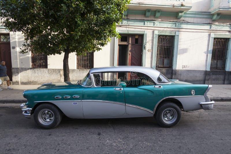 American old car in Havana stock photography