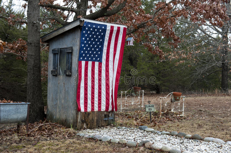 Download American Outhouse Royalty Free Stock Photo - Image: 18665855