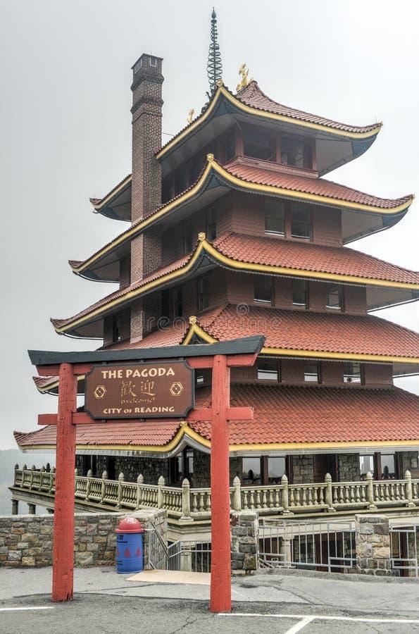 american pagoda reading pennsylvania stock image image of asian