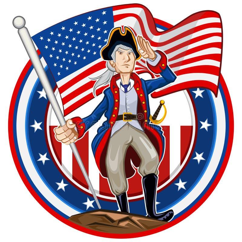 American Patriot Emblem Stock Photos