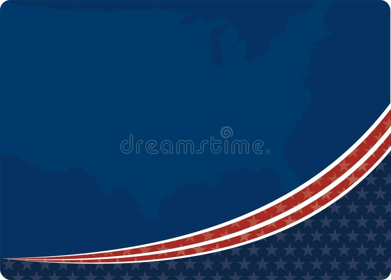 American patriotic vector illustration
