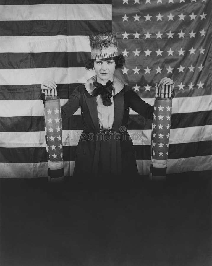 American patriotism royalty free stock image