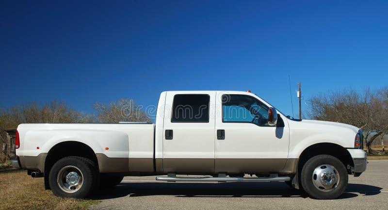 American pickup truck. A big american pickup truck stock image