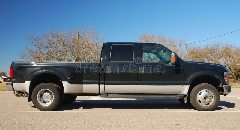 American Pickup Truck. A Big American Pickup Truck stock photography