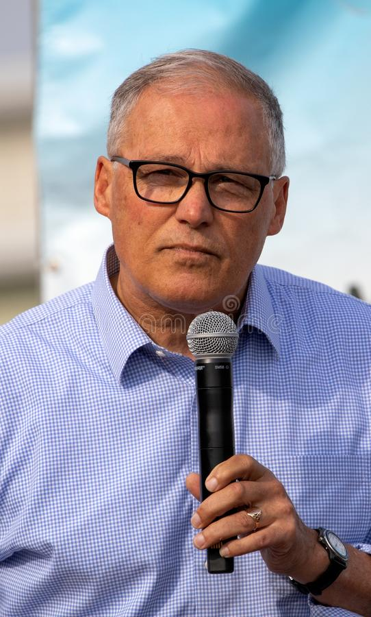 American Politician Jay Inslee royalty free stock photos