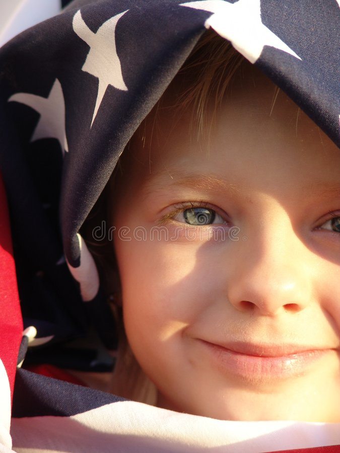 American Pride royalty free stock image