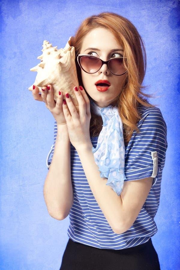 Free American Redhead Girl In Sunglasses. Stock Image - 25534561