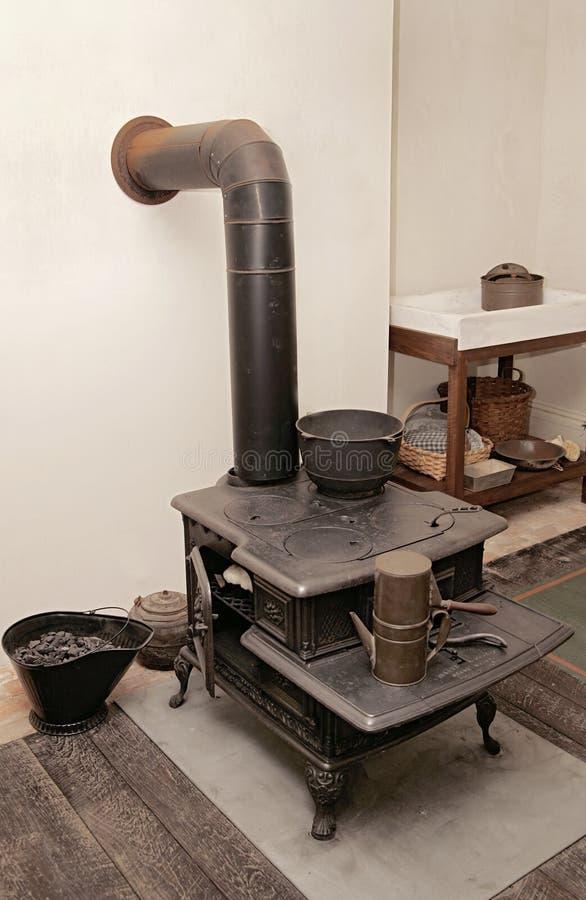 American Revolution Kitchen Stock Image - Image of table, reenact ...