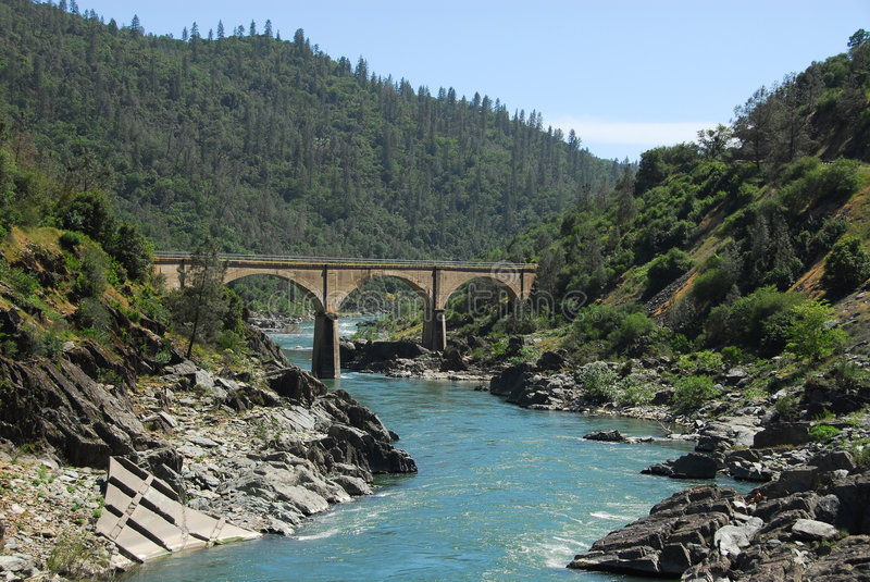 American River royalty free stock images