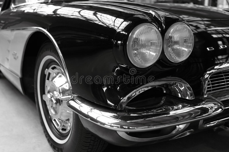 American roadster. An American dream from the 50's royalty free stock image
