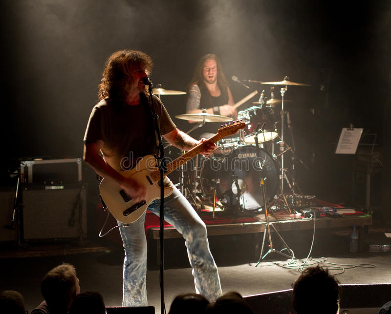 American Rock/Country rock band Jason & the Scorch stock images