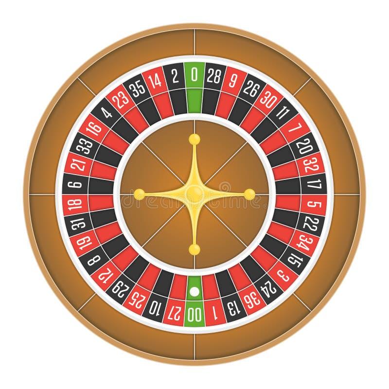 Free Roulette Wheel Vector