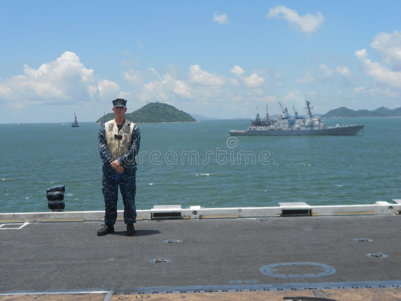Download American Sailor editorial photo. Image of navy, naval - 36343756