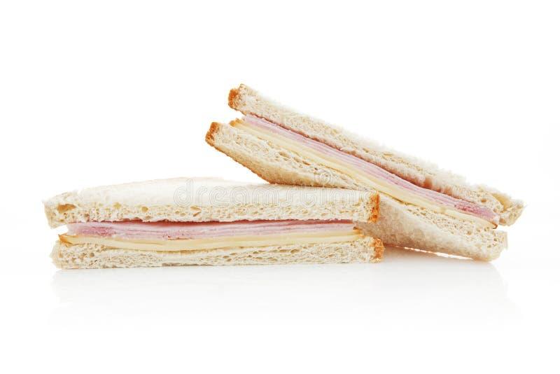 American sandwich isolated. stock photos